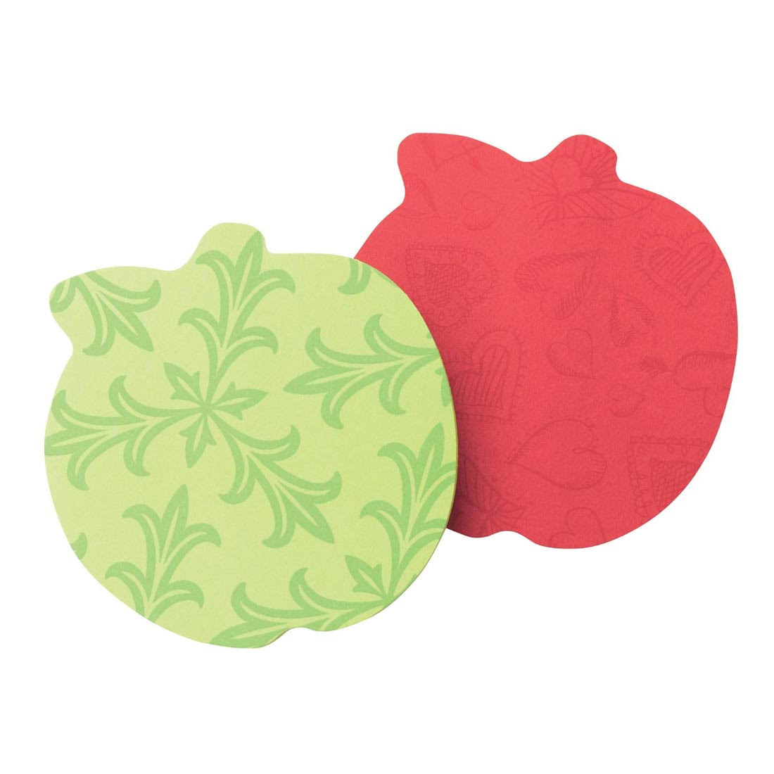 "Post-it Super Sticky Notes - Apple (3"" x 3"")"