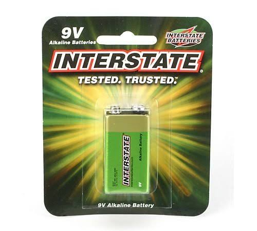 Interstate Batteries Alkaline Battery - 9V