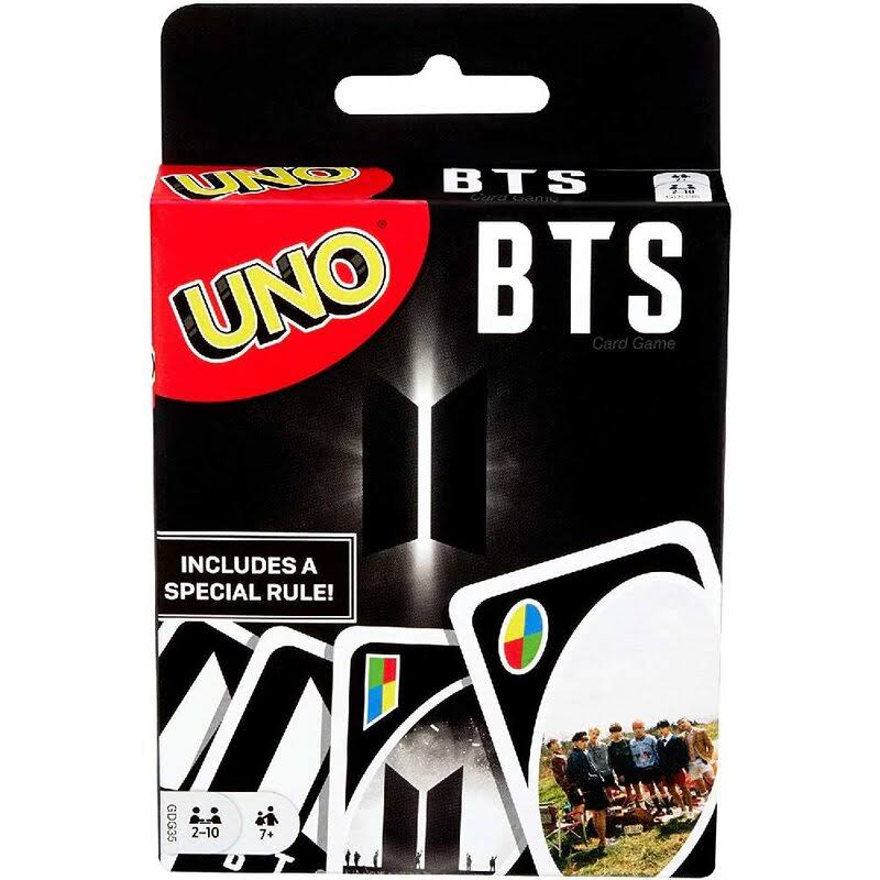 Uno Card Game - BTS Edition