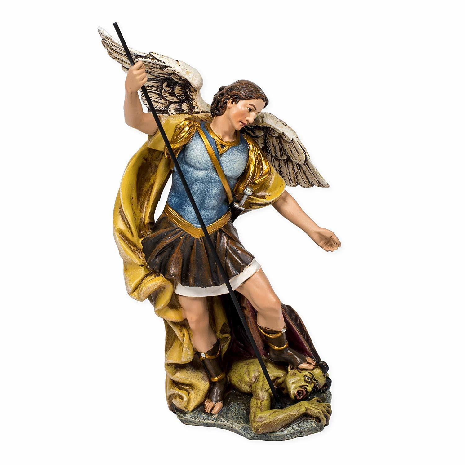 Joseph Studio St. Michael The Archangel Defeating Satan Figurine Statue