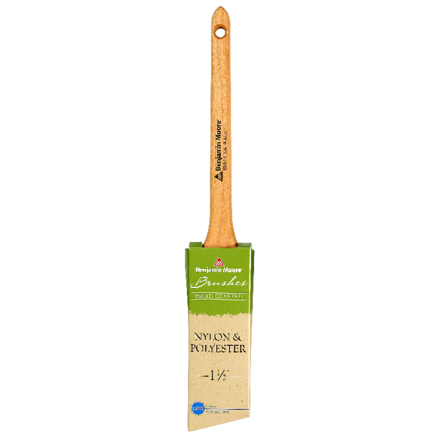 Benjamin Moore Nylon And Polyester Angle Paint Brush - 1 1 / 2""