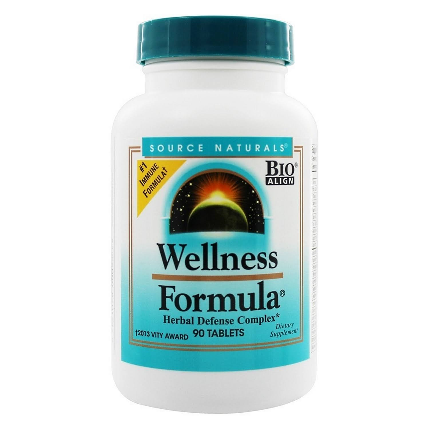 Source Naturals Wellness Formula Tablets - 90 count