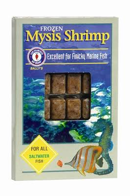 San Francisco Bay Frozen Mysis Shrimp Fish Food - 100g