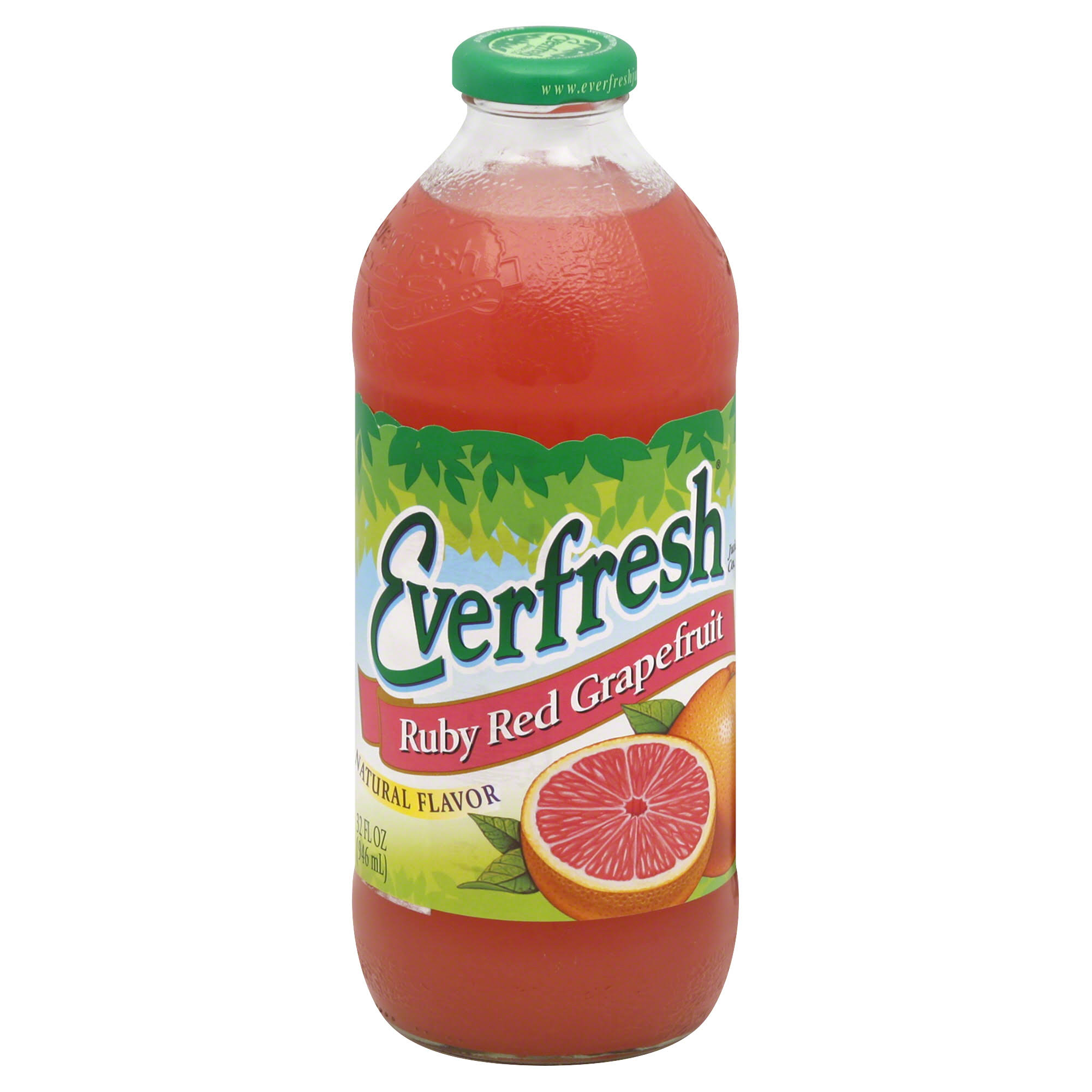 Everfresh Juice Drink Ruby Red Grapefruit - 32Oz