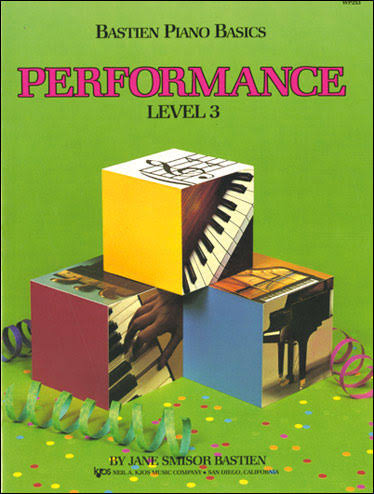 Bastien Piano Basics: Performance Level 3 - Jane Bastien