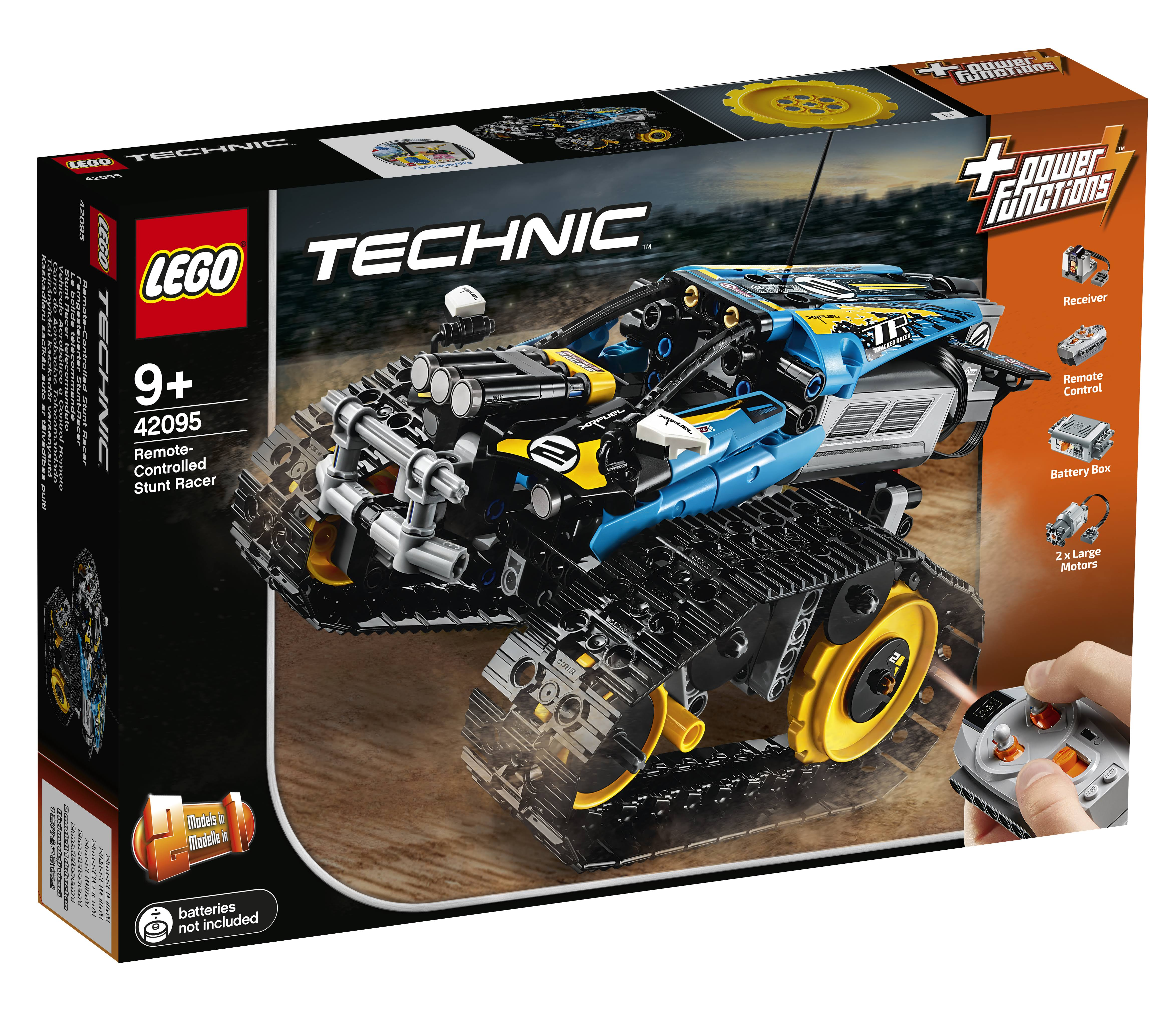 Lego 42095 Technic RC Stunt Racer Building Toy