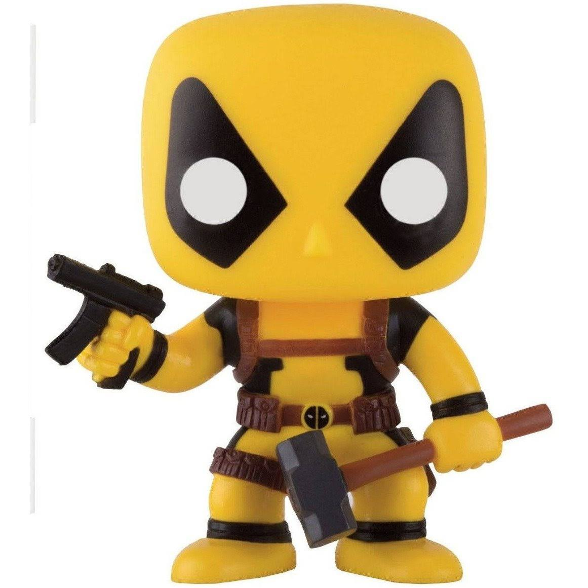 Funko Pop Marvel 157 Slapstick Yellow Deadpool Hot Topic Mystery Figure