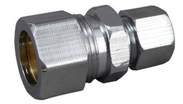Plumb Pak MP80PCLF Straight Connector - 1/2in x 3/8in