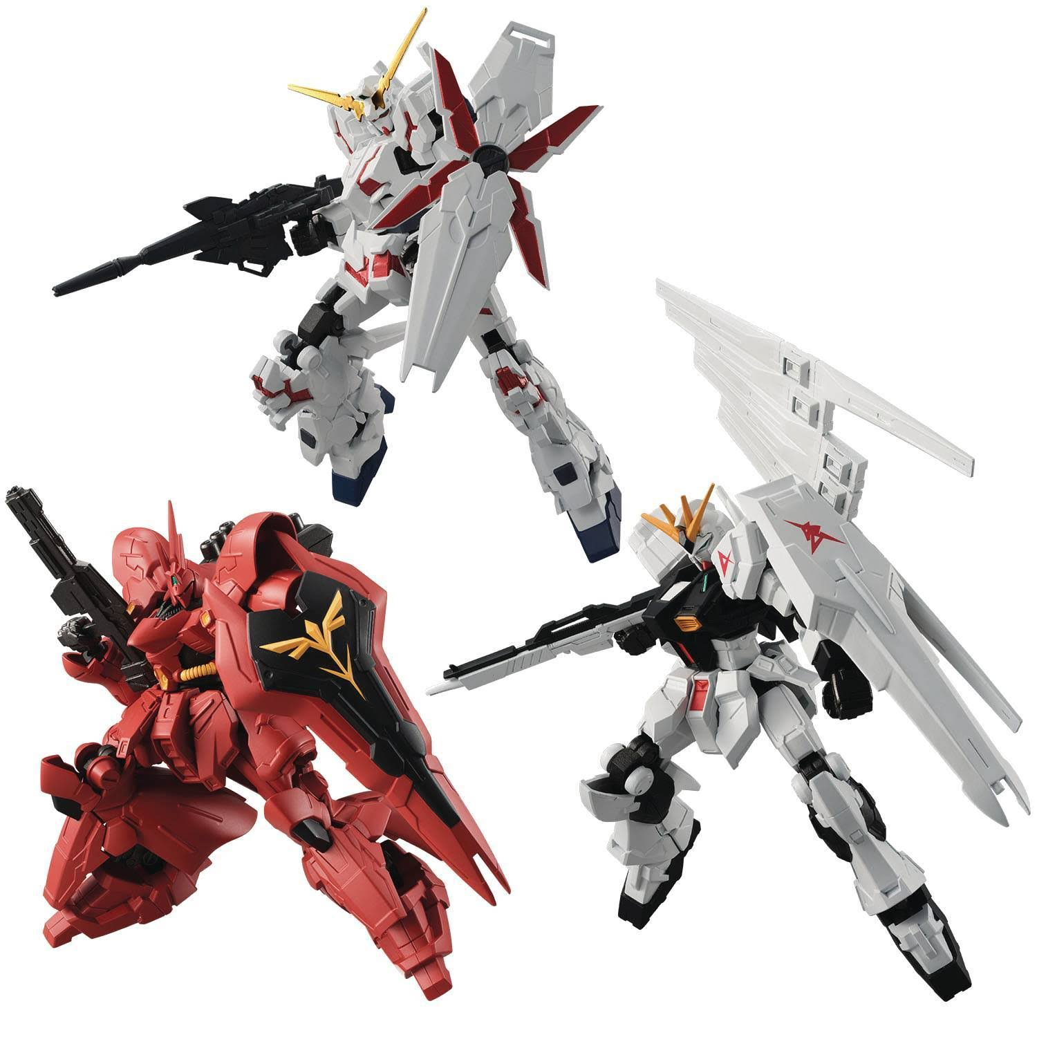 Bandai Mobile Suit Gundam G Frame Set