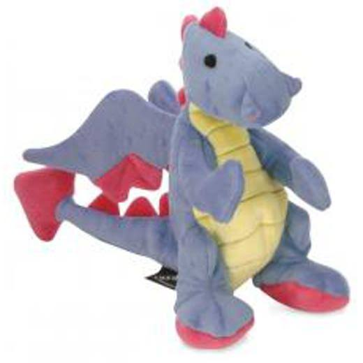 Sherpa goDog Dragons Periwinkle Dog Toy