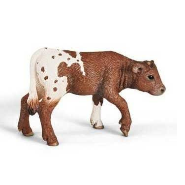 Schleich Texas Longhorn Calf Toy Figure