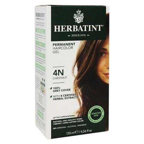 Herbatint Permanent Hair Colour Gel - Chestnut 4N