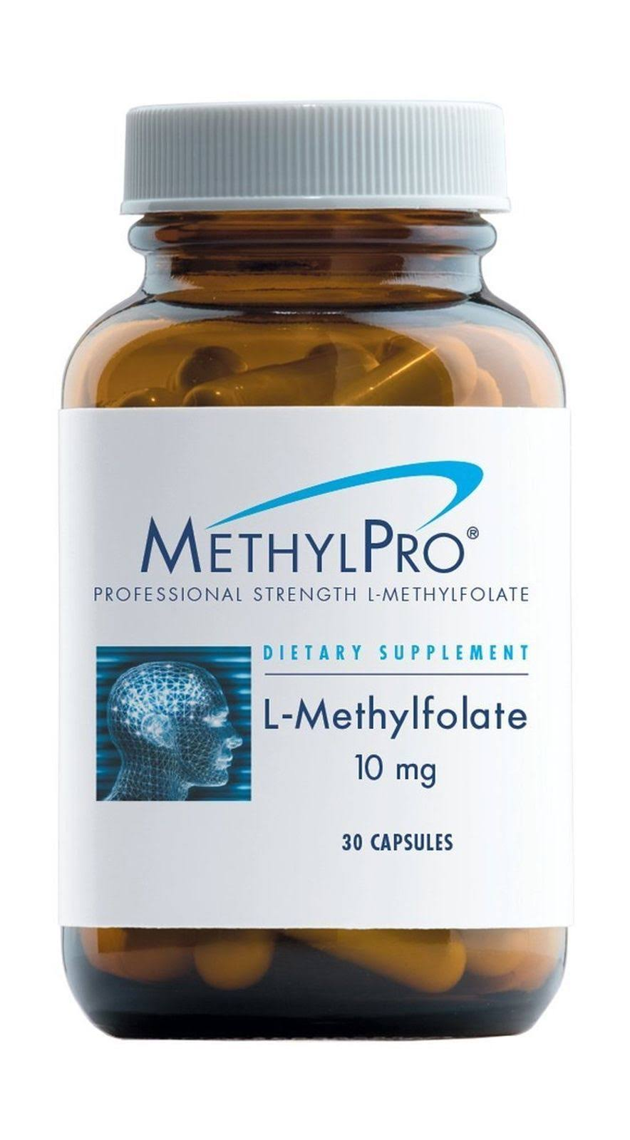 Methyl Pro Professional Strength L Methylfolate Dietary Supplement - 30ct