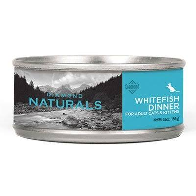 Diamond Naturals Whitefish Dinner Cat Food, 5.5-oz.
