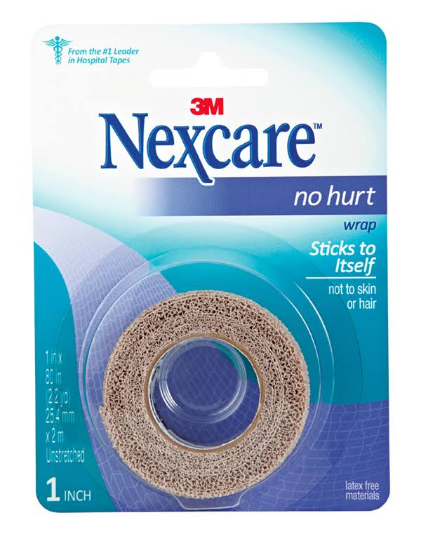 "3M Nexcare No Hurt Wrap - 1""x80"""