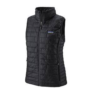 Women's Patagonia 'Nano Puff' Insulated Vest - Black, XLarge