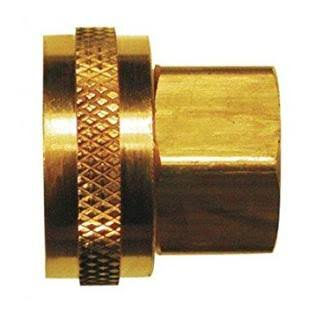 JMF Adapter - Yellow Brass