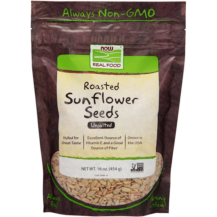 Now Real Food Sunflower Seeds Unsalted