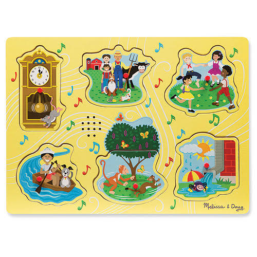 Melissa and Doug Nursery Rhymes 1 Sound Puzzle