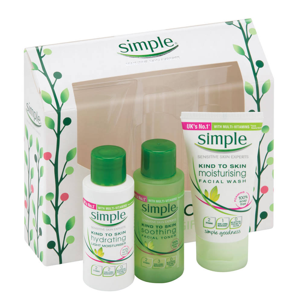 Simple Feel Good Mini Regime Gift Set