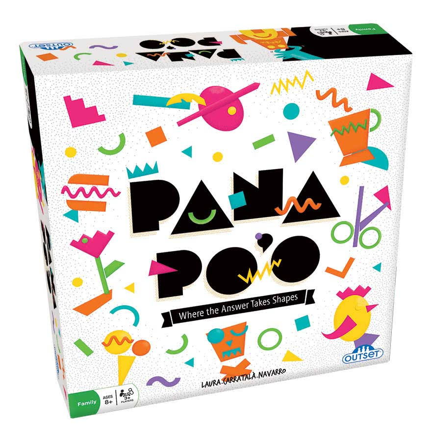 Outset Media Board Game Pan Po'o Board Game One-Size
