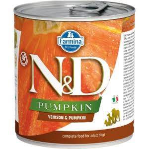 Farmina N&D Venison & Pumpkin Canned Dog Food | Tomlinson's Feed 10.05 oz