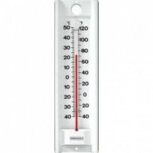 Taylor Indoor Outdoor Aluminium Thermometer - 22.2cm