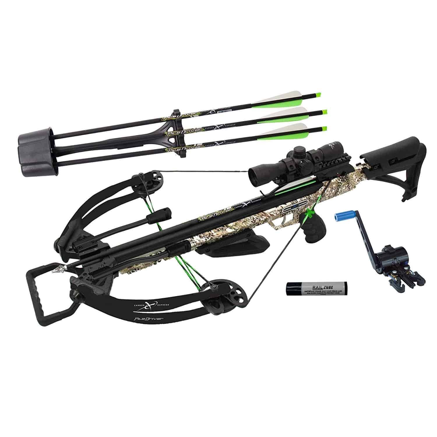 Carbon Express Xforce Piledriver 390 Crossbow - With Crank