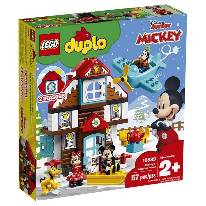 Lego 10889 Duplo Disney Mickey's Vacation House
