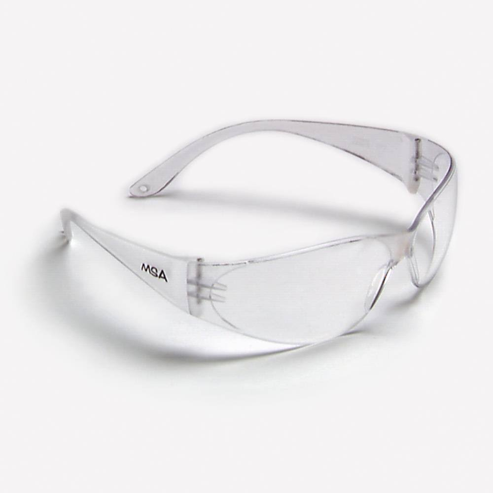 MSA Safety Works Close-fitting Safety Glasses - Clear Lens