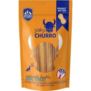 Himalayan Pet Yaky Churro Dog Treats - Peanut Butter 4 oz