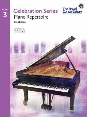 Royal Conservatory C5R03 Celebration Series: Piano Repertoire Level 3 - Frederick Harris Music Co