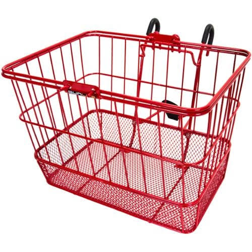Sunlite Standard Mesh Bottom Lift-Off Front Basket with Bracket - Red