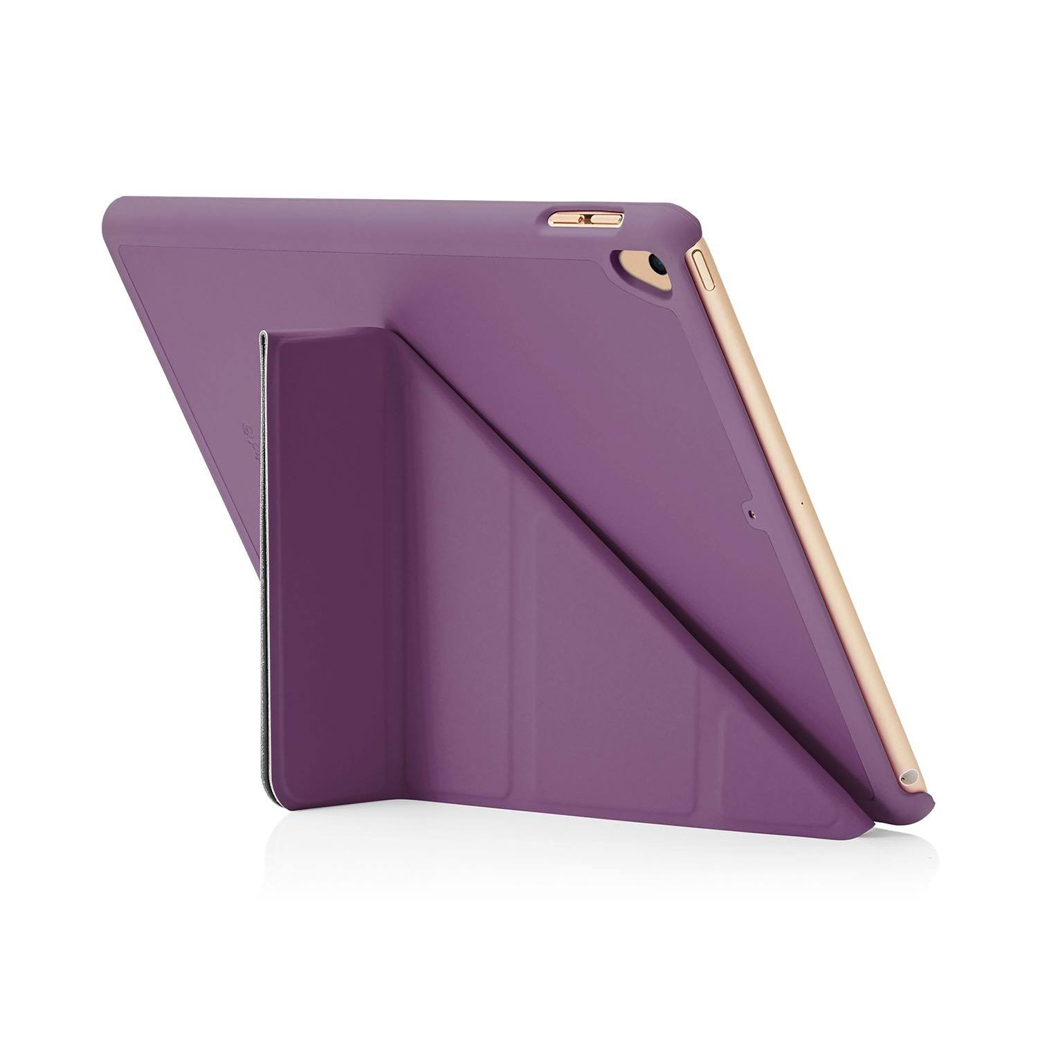 Pipetto Origami 9.7 Folio Purple iPad 9.7 (2017) Case Origami, P0
