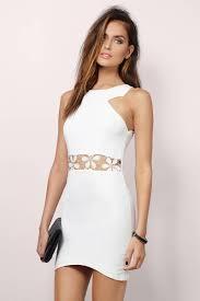cheap white bodycon dress strappy dress 17