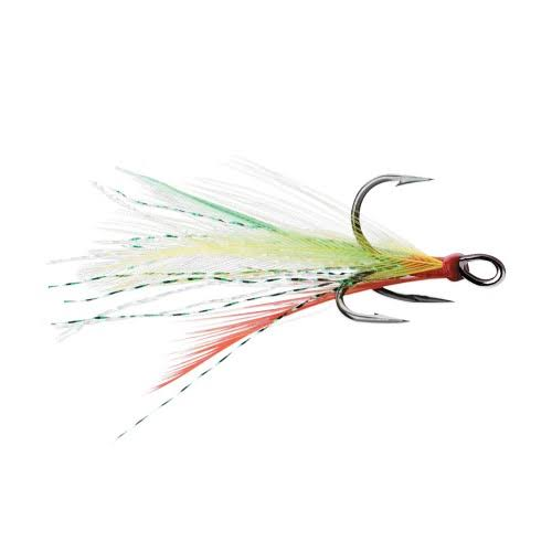 VMC Dressed X-Rap Treble Hook - Fire Tiger - #2