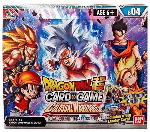Dragon Ball Super Series 4 Colossal Warfare TCG Booster Box
