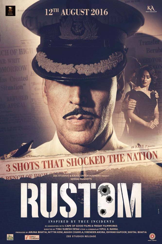 Rustom Hindi Movie Free Download 2016 720p BluRay