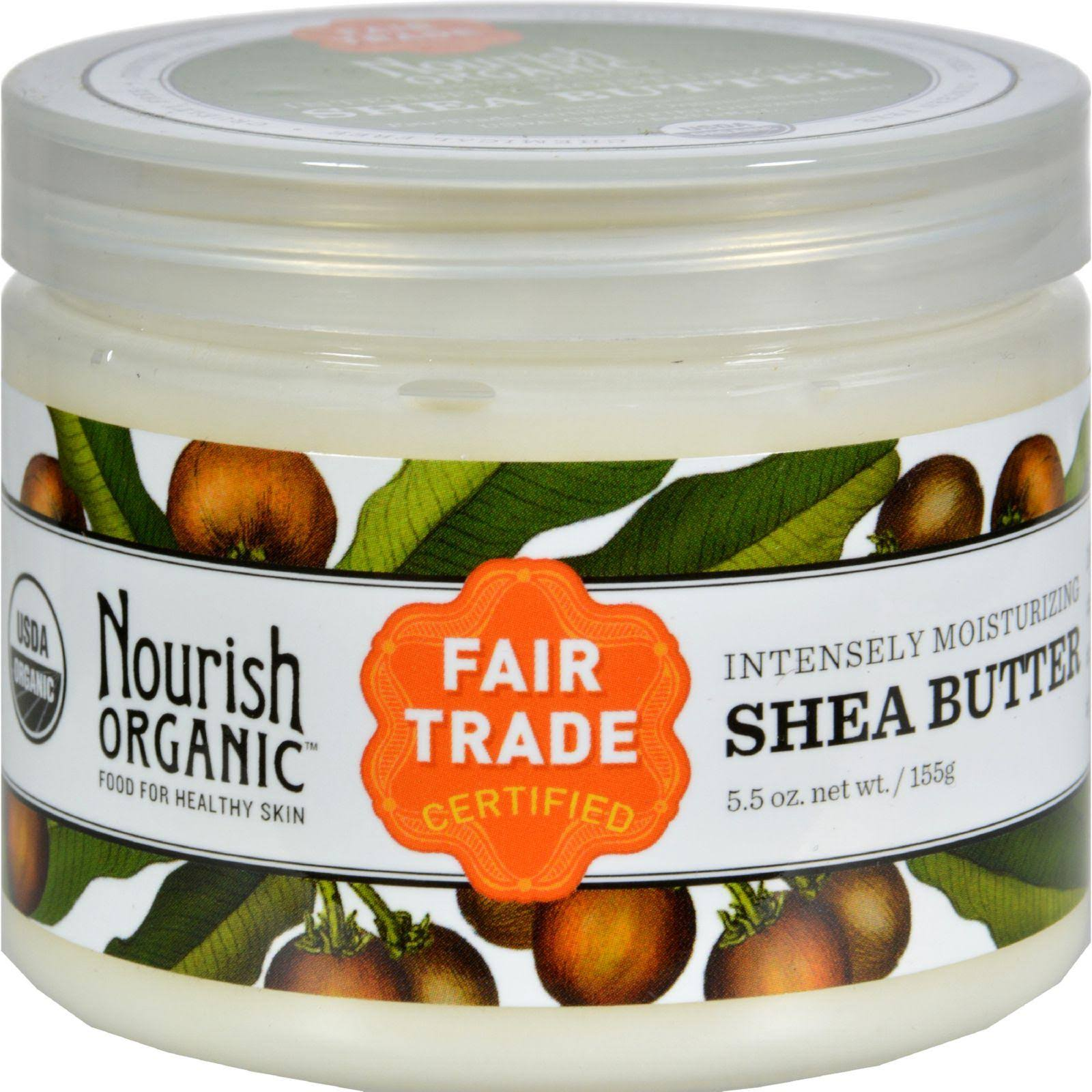 Nourish Intensive Moisturizer - Organic Raw Shea Butter, 5.5oz