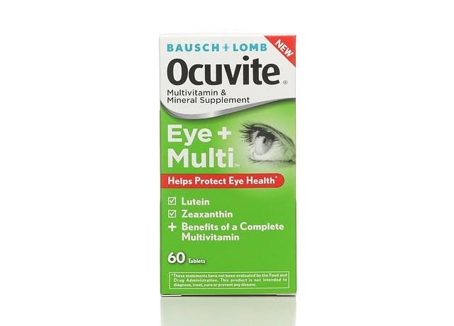 Ocuvite Eye + Multi Multivitamin & Mineral Supplement Tablets