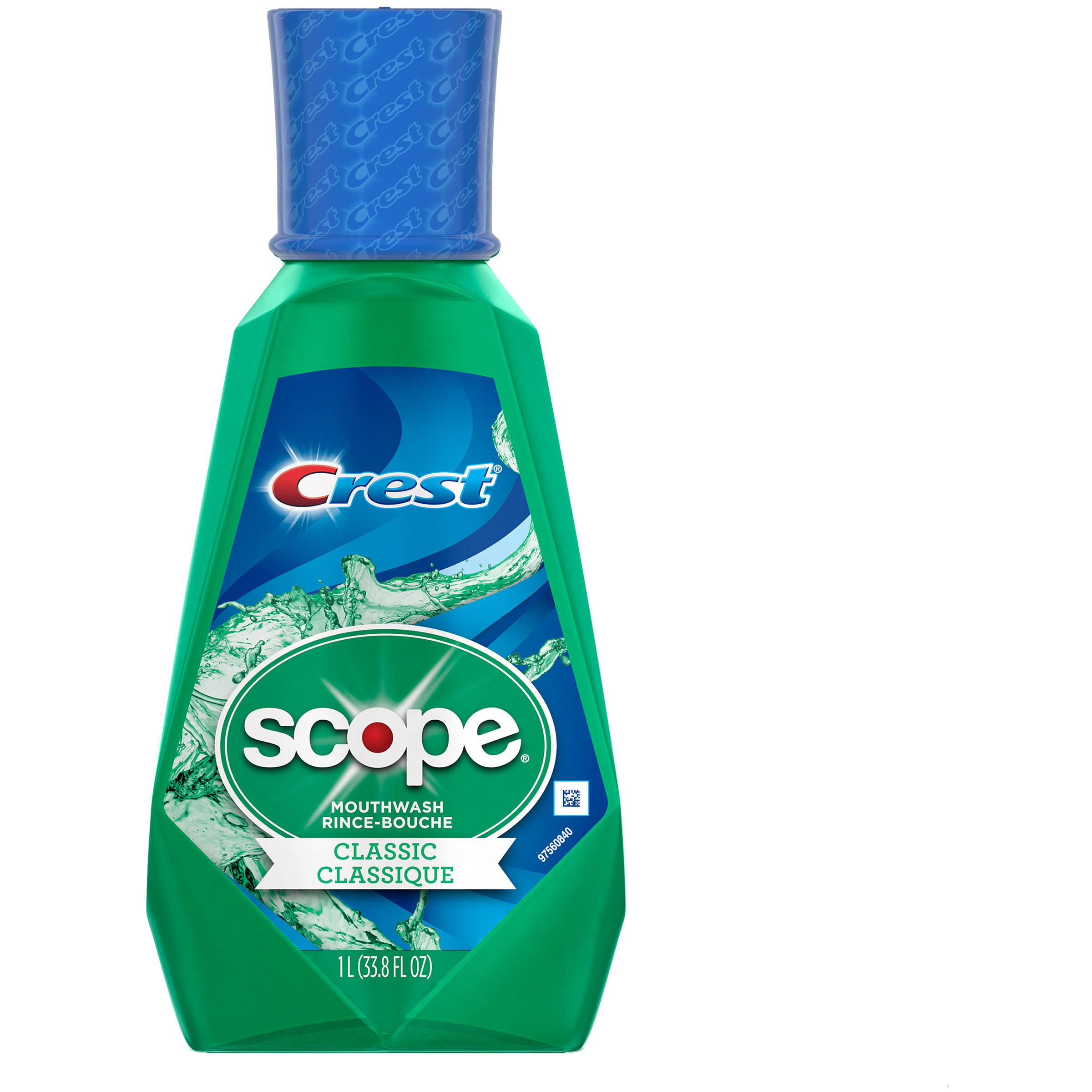 Crest Scope Classic Original Mint Mouthwash - 33.8oz