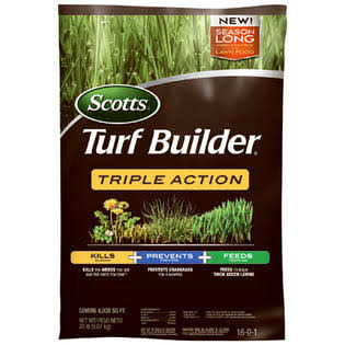 Scotts Turf Builder Triple Action Fertilizer - 50 lb