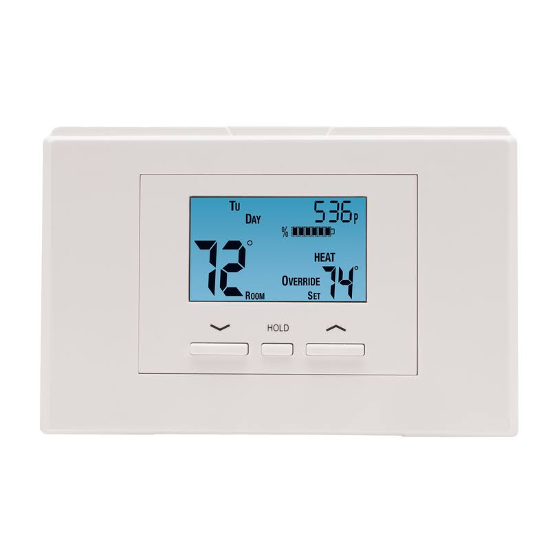 Lux Atx700u-a04 Digital Programmable Thermostat - Square, White