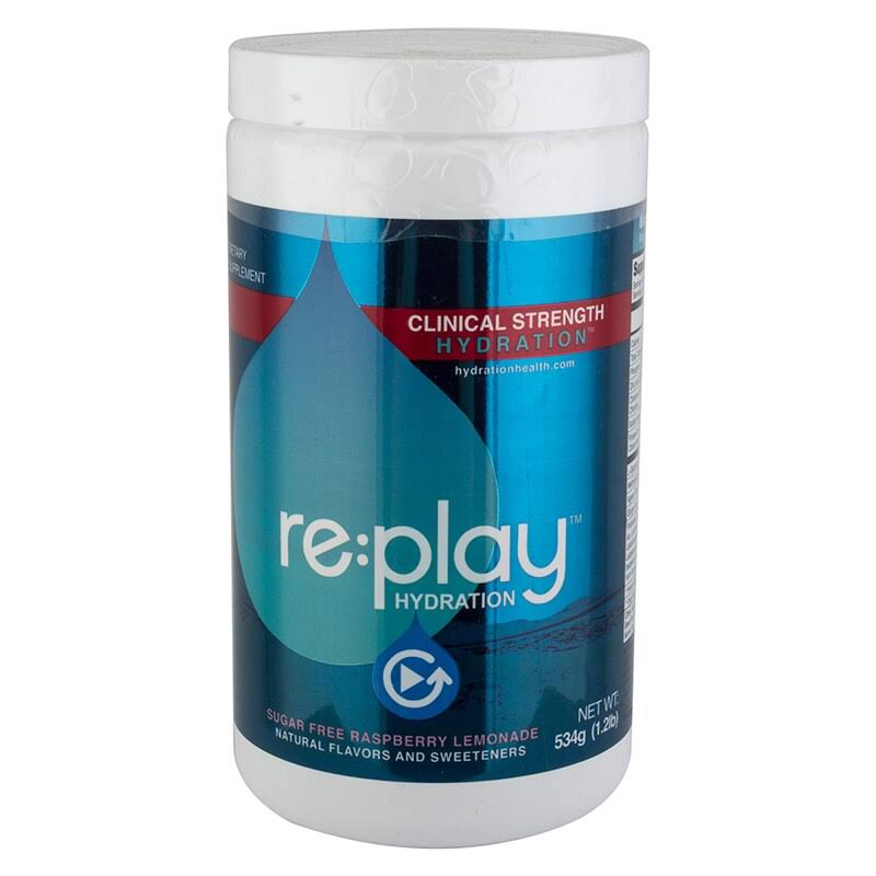 Hydration Health Replay Hydration Mix, 30-Serving Jar