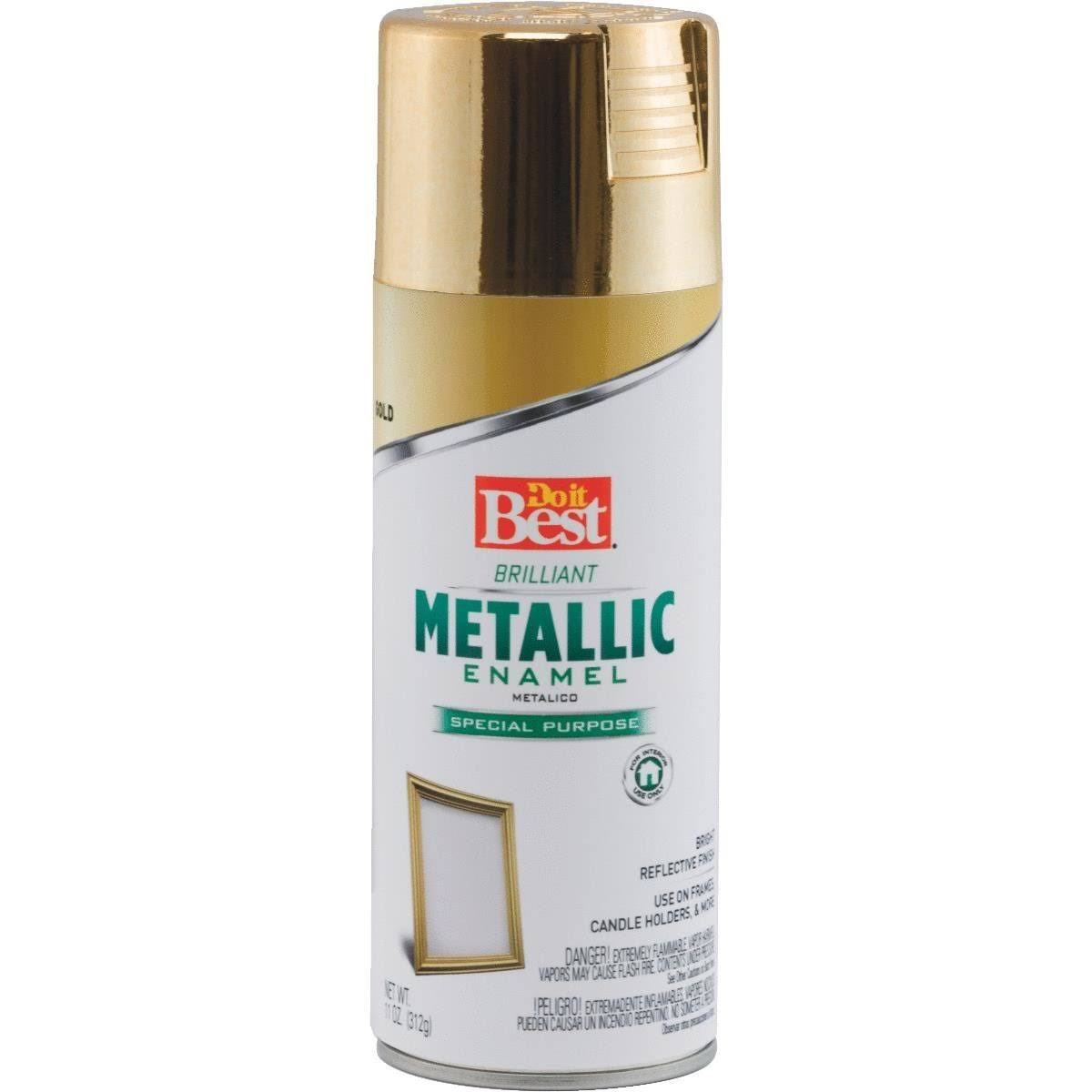 Do it Best Metallic Enamel Spray Paint - Gold