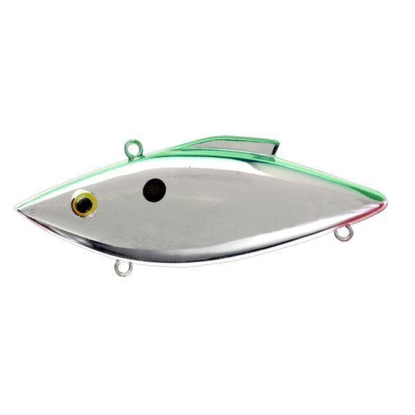 Bill Lewis Rat-L-Trap - Chrome Green Back
