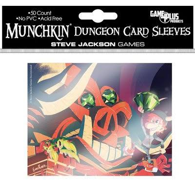 Munchkin Card Sleeves - Dungeon, 50ct