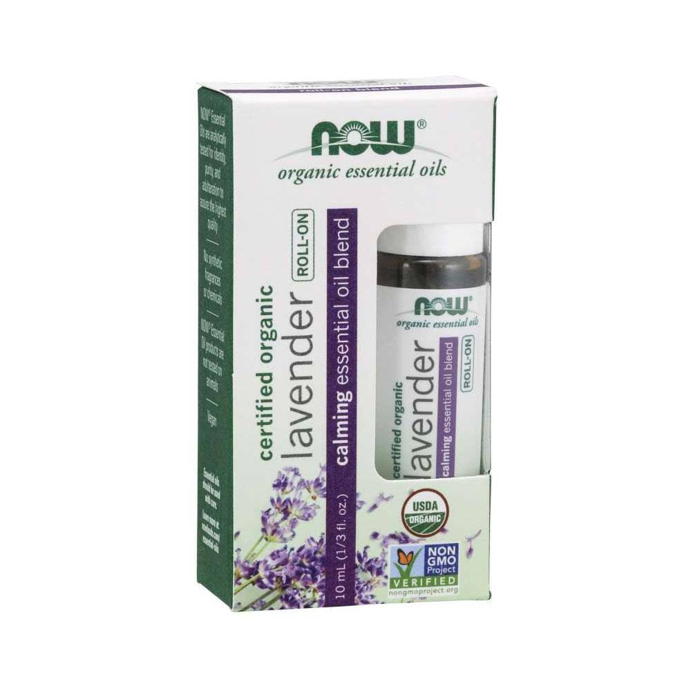 Now Organic Lavender Essential Oil - 10ml