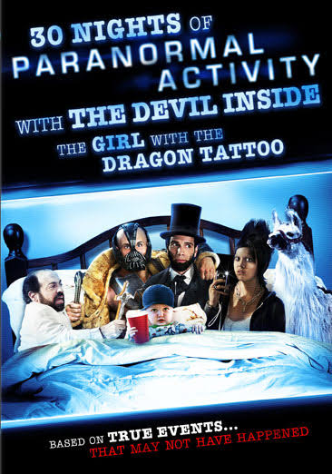 30 Nights of Paranormal Activity with the Devil Inside the Girl with the Dragon Tattoo - DVD