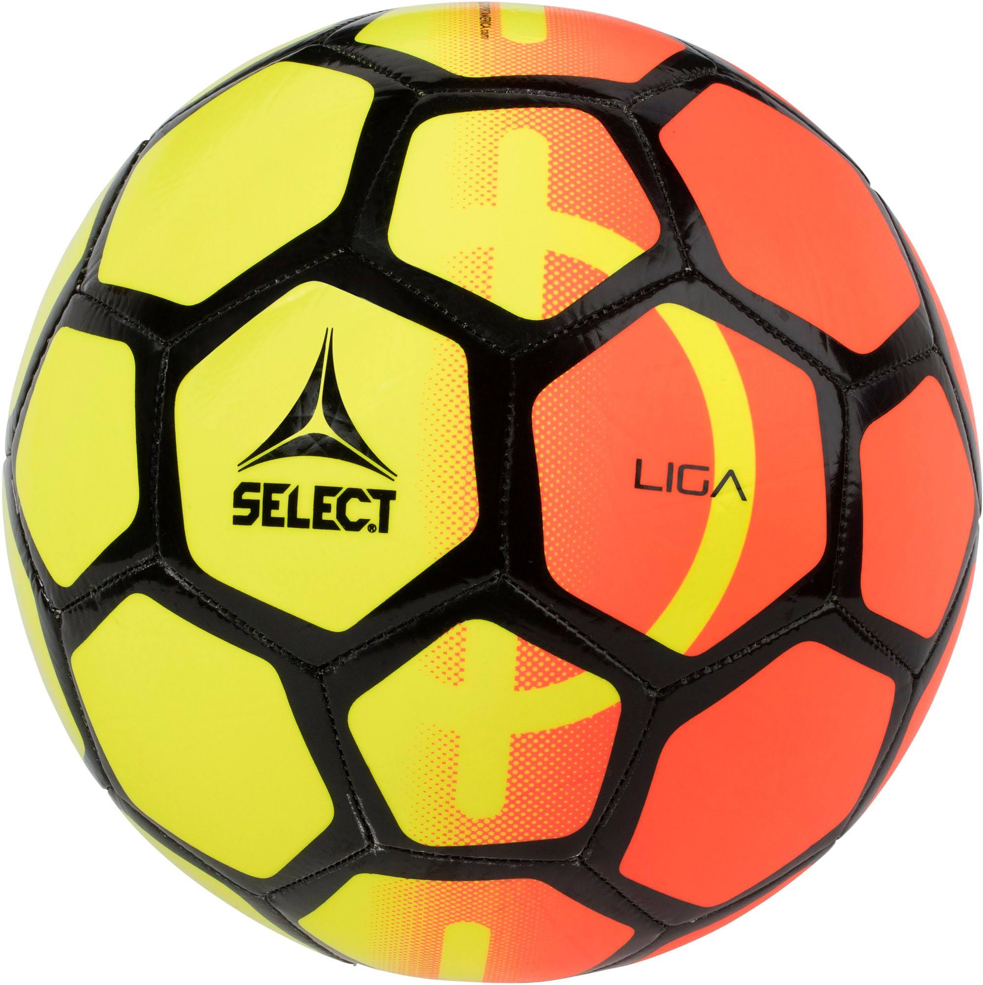 Select Liga Soccer Ball, Size: 5, Orange